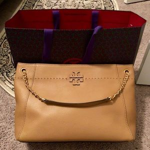 BRAND NEW Tory Burch McGraw Chain Shoulder Tote